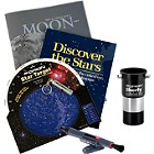 Orion GoScope 70 Refractor Telescope with StarGazer's Kit